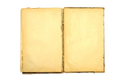 Old book open. Royalty Free Stock Image