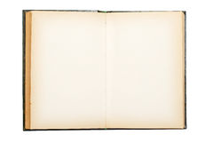 Free Old Book Open On Both Empty Pages Royalty Free Stock Image - 8532436