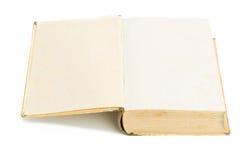 Old book open Stock Photos