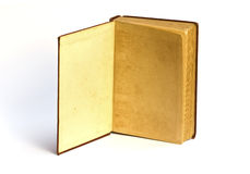 Old book Open two face Stock Images