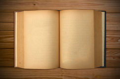 Old book Open two face Royalty Free Stock Image