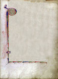 Texture of old book page Royalty Free Stock Images