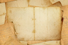 Old book pages Stock Image