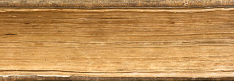 Old Book Pages Close Up Royalty Free Stock Photos