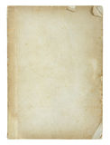 Old book pages isolated Stock Images