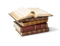 Old book pages Royalty Free Stock Images