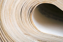 Old book pages, vintage background Royalty Free Stock Photography