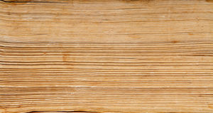 Free Old Book Paper Background, Macro Of Spine Pages Royalty Free Stock Photo - 40172325