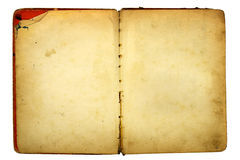 Old book parts Royalty Free Stock Photography
