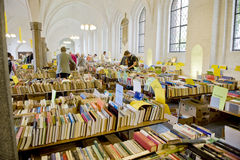 Old book sale Royalty Free Stock Photos