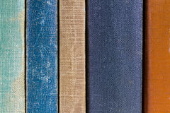 Old Book Spines Stock Image