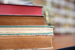 Old Book Stack Stock Image