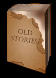 Old book stories Royalty Free Stock Image