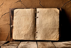 Old book on table Royalty Free Stock Image