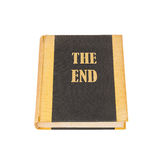 Old book with the title The End Royalty Free Stock Images
