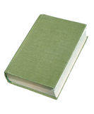 Old book w/path. Aged book isolated with clipping path Royalty Free Stock Images