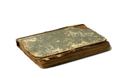 Old book. On a white background Royalty Free Stock Photo