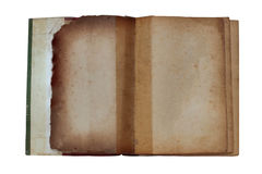 Old book on a white background. Stock Image
