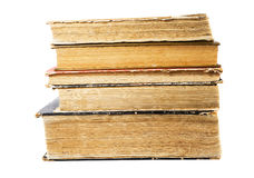 Old book on a white background Stock Images