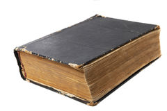 Old book on a white background Stock Photography