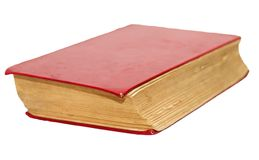 Old book on white background Stock Photography