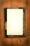 Old book with white paper as background Royalty Free Stock Photos