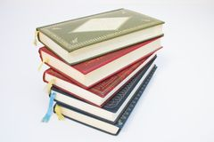 Old books. Stes to knowledge Stock Photos