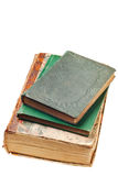 Old books from the 1800's Royalty Free Stock Photo