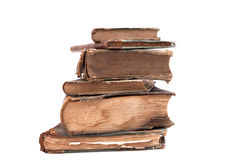 Old books. The tower of the old books of the 19th century Stock Photos