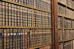 Old books. In the Library of Stift Melk, Austria Stock Photography