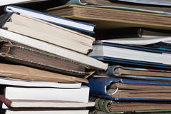 Old books. And phtographic archives Royalty Free Stock Photography