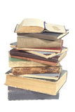 Old books. Old isolated books Royalty Free Stock Image