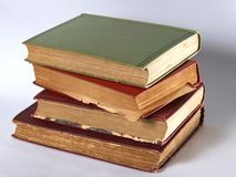 Old Books. Stack of old books Royalty Free Stock Photo