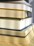 Old books. Book tower Royalty Free Stock Photography