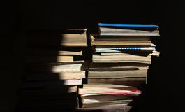 Old books. The books, all the stories of the world Stock Photo