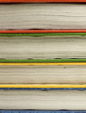 Old books background. Multi colored old books background Royalty Free Stock Images
