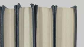 Old books background stock footage