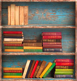 Old books on the background Royalty Free Stock Photography