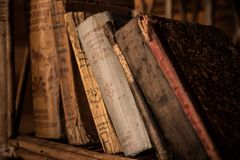 Old Books, Book, Old, Library Stock Photo
