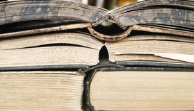 Old books close up Royalty Free Stock Image