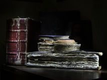 The old books Royalty Free Stock Photos
