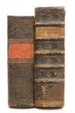 Old books isolated Royalty Free Stock Photography