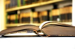 Old books in library Royalty Free Stock Photography
