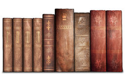Old books, library Stock Photos