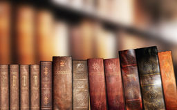 Old books, library Royalty Free Stock Images