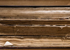 Old Books From Library Stock Photo