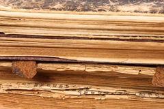 Old books paper pages Stock Image