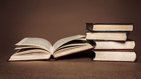 Old books. Royalty Free Stock Photography