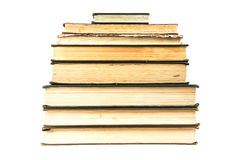 Old books pile Royalty Free Stock Photos