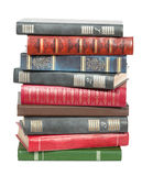 Old books in a pile Royalty Free Stock Image
